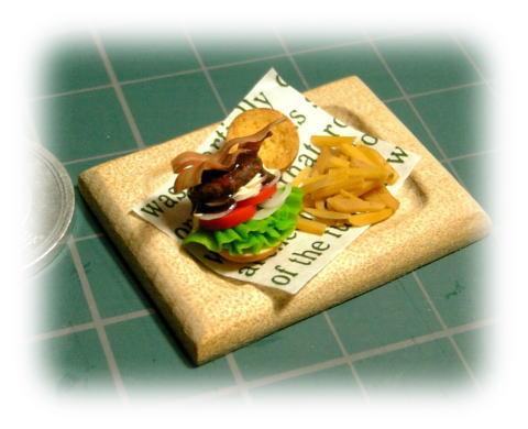 miniハンバーガープレート♪♪♪