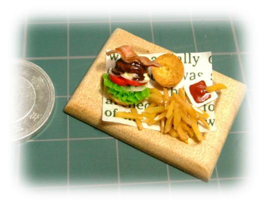 miniハンバーガーセット♪♪