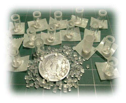 miniグラスと氷♪