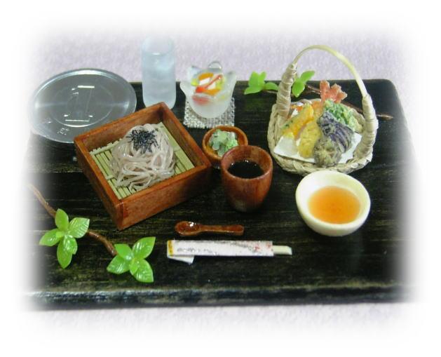 天ぷら蕎麦セット♪
