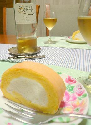 080816ワインとケーキ