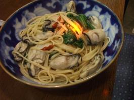 牡蠣ペペロン
