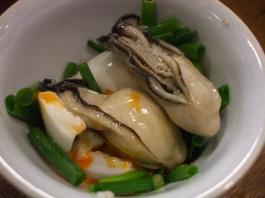 牡蠣と初たま