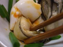 牡蠣と初たまUP