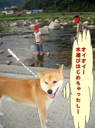 川遊びしてるし・・・・