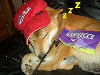眠たいの!
