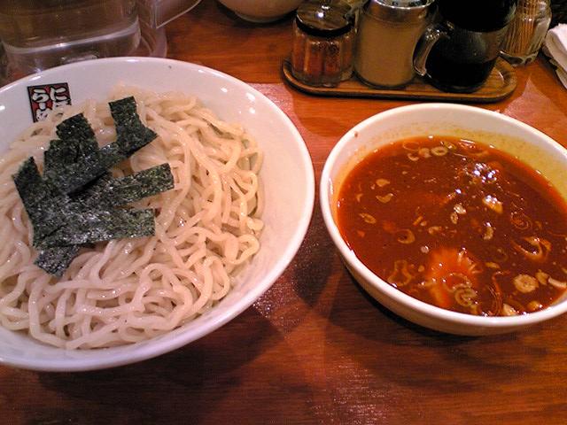 「煮干しらーめん玉五郎三代目」 辛味つけ麺2玉 梅田 9/5