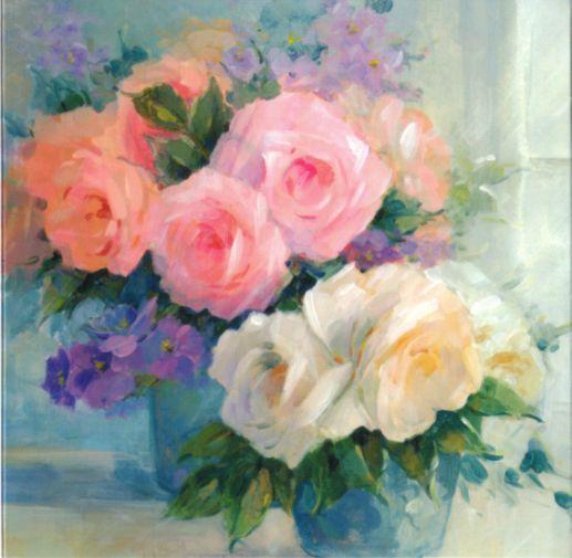 バラの花のカード
