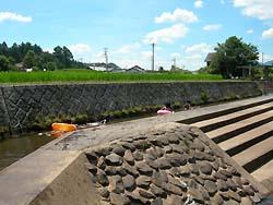 河童公園の流れるプール