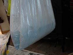 薪ストーブ煙突掃除(取れた煤の量)