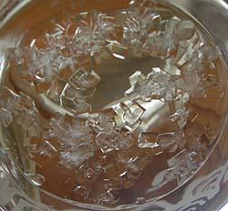 塩&砂糖水の結晶