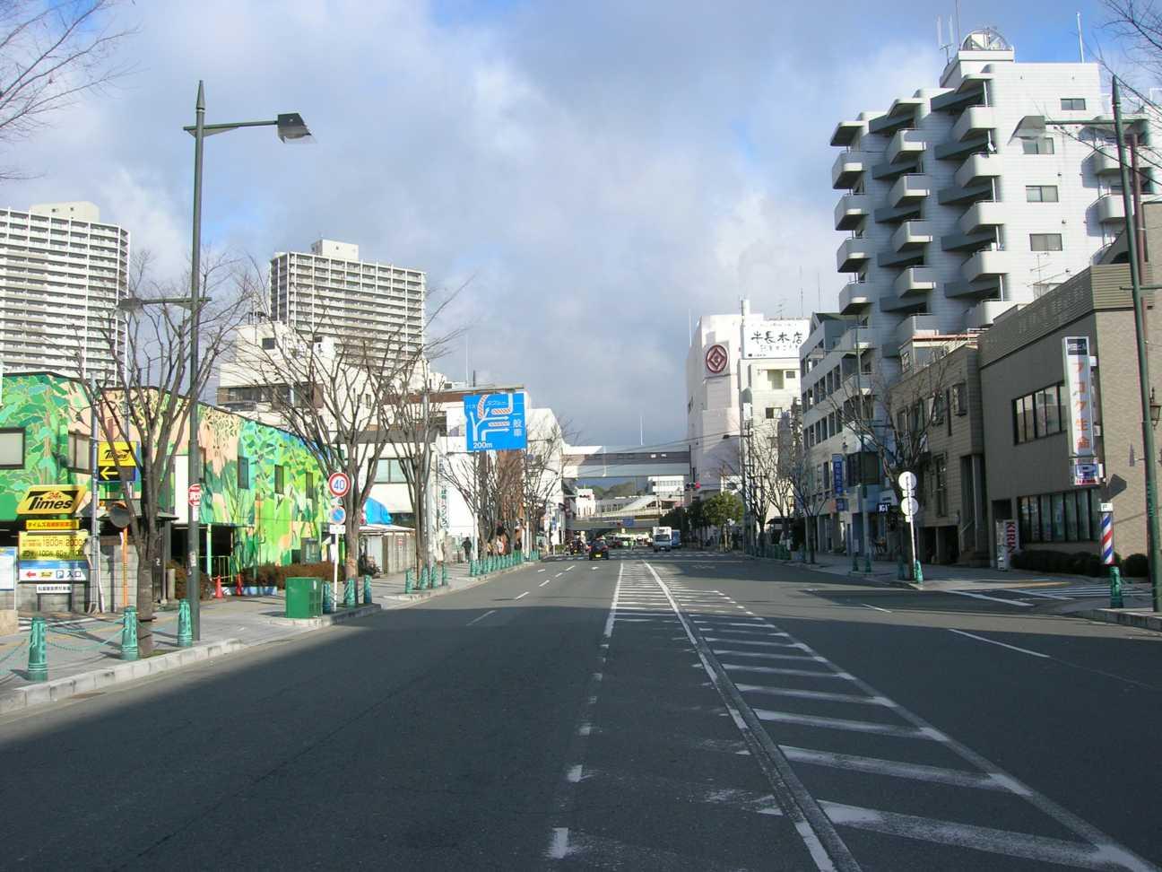 高槻駅前停車場線