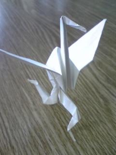 鶴ですら前向いて進んでるんだ私達が下を向いてどうする!!