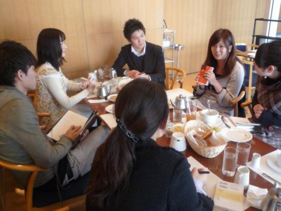 学生限定の読書朝食会、青山アンデルセンにて開催!
