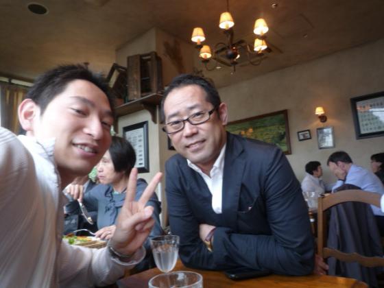読書会「アウトプット勉強会」のヤマモトタツヤさんとお会いしました!