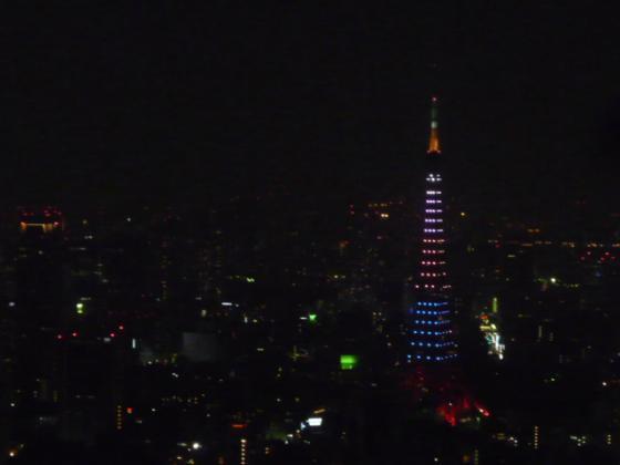 東京タワーがキレイでした!