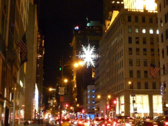 5th Aveはクリスマス一色!
