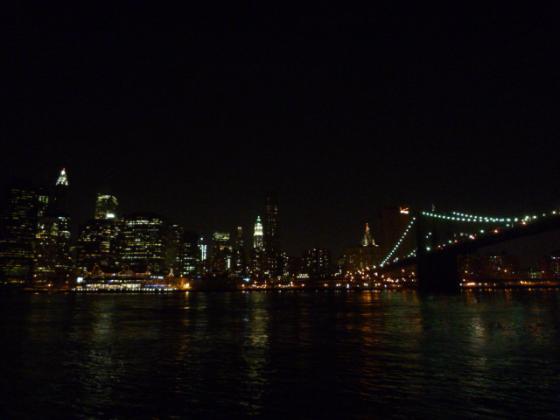 ニューヨーク・マンハッタンの夜景!