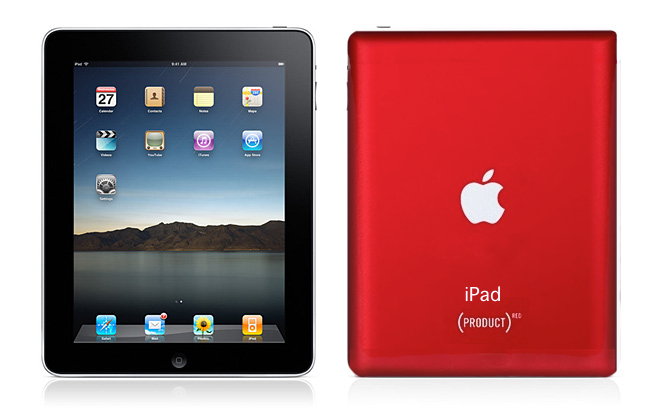 iPad Product RED2