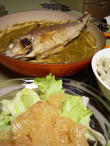 魚からあげのカレーソース