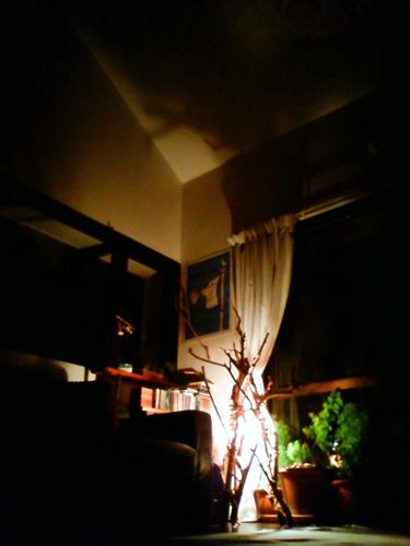 たき火ライト