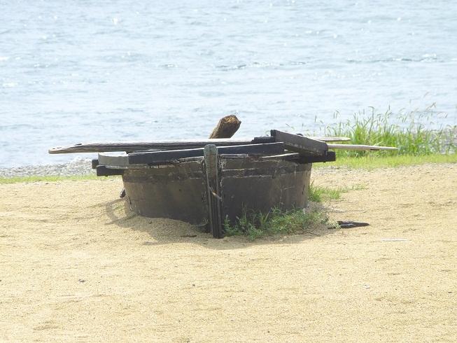 武蔵の舟?