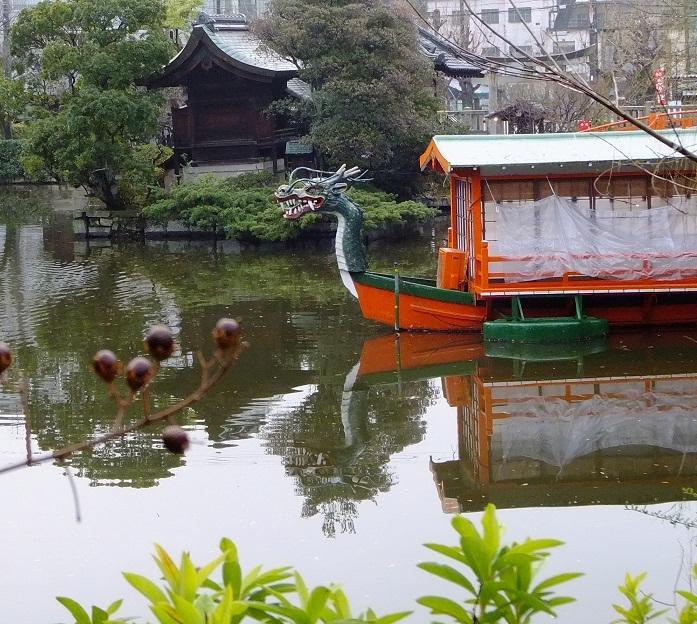 龍頭の船と竜神の社
