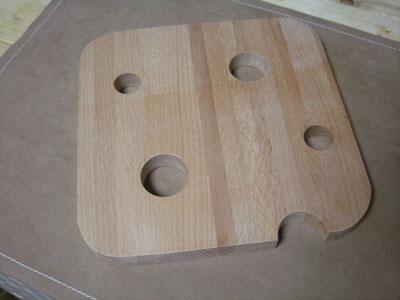 チーズのまな板