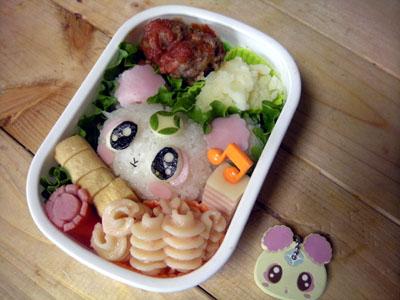 シフォンちゃんのお弁当。