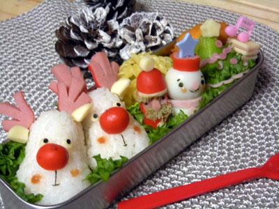 クリスマスコラボ弁当①