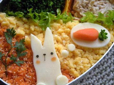 ウサギとニンジン②