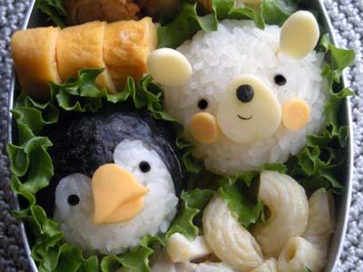 ペンギンと白クマ②