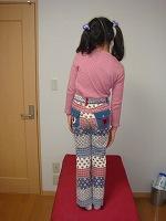 斜め立ち-兵庫県伊丹市カイロプラクティック整体