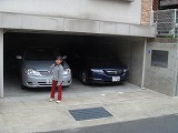 駐車位置-兵庫県伊丹市カイロプラクティック整体