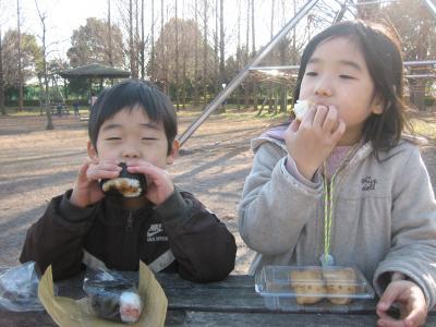 大平公園お昼