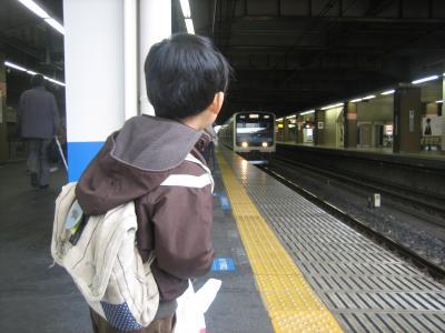 大悟と電車