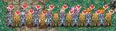 聖騎士団and緑の会