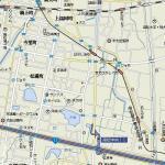 ふるかわの地図(赤い点が所在地)