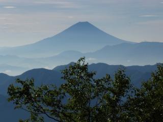 富士山バイバイ