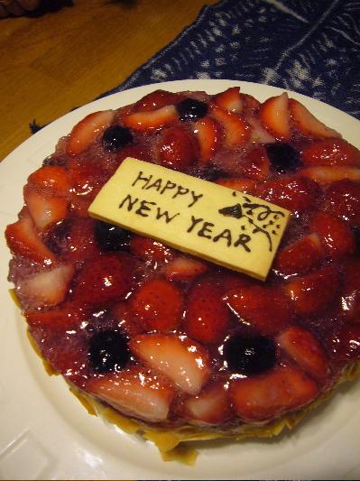 新年のケーキ
