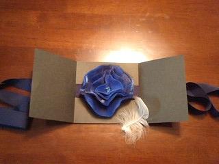 天使のカード 藍き花