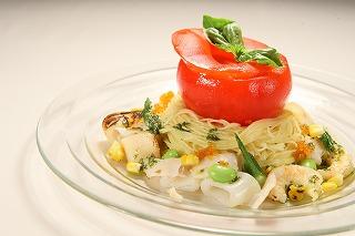 10-06-24 「冷たいパスタ 丸ごとトマトのびっくりソース仕立て」