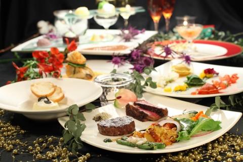 s-10-12-09 イタリア料理ラ・ヴィータ_クリスマスディナー横_19273
