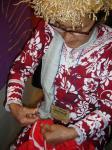タヒチアンキルトのエマさん5
