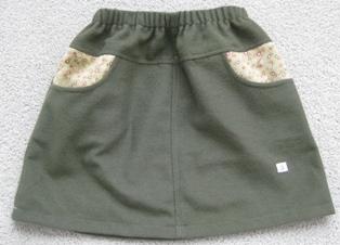 グリーンスカート1