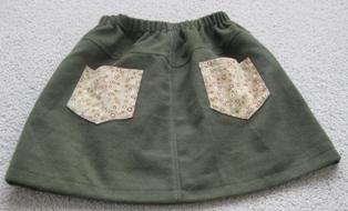 グリーンスカート2