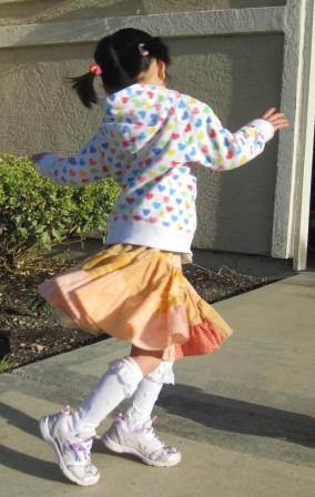 sudokuスカート2-着用