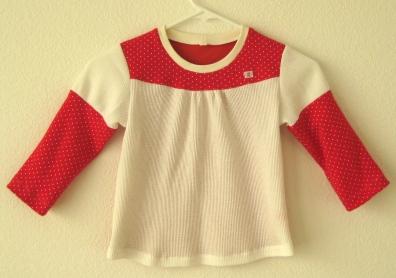 パッチワークTシャツ-1