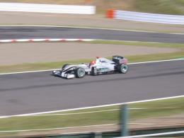 F1マシン メルセデス