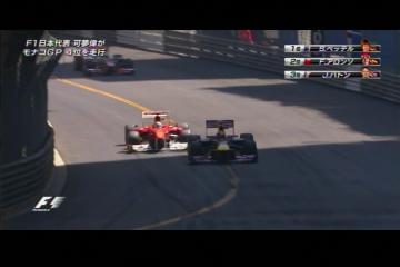 2011 モナコGPトップ3